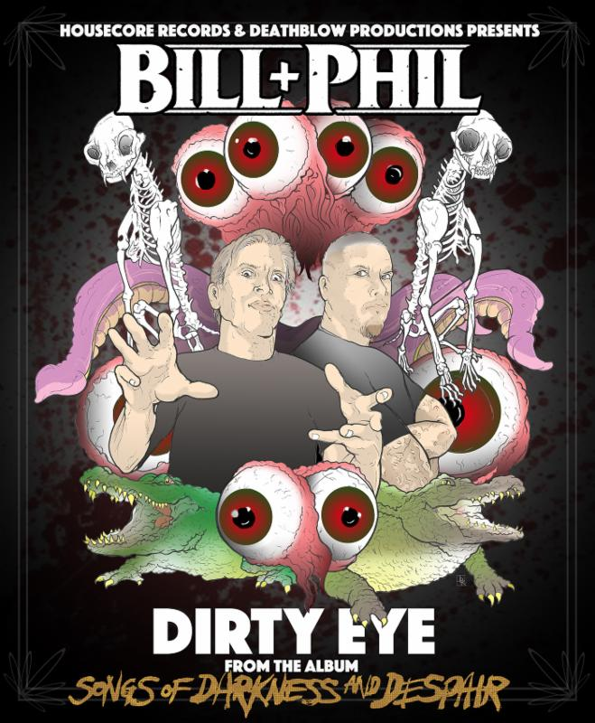 Go Behind The Scenes On Bill Moseley & Phil Anselmo's Dirty Eye Video!
